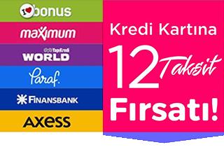 Kredi kartına 12 taksit fırsatı